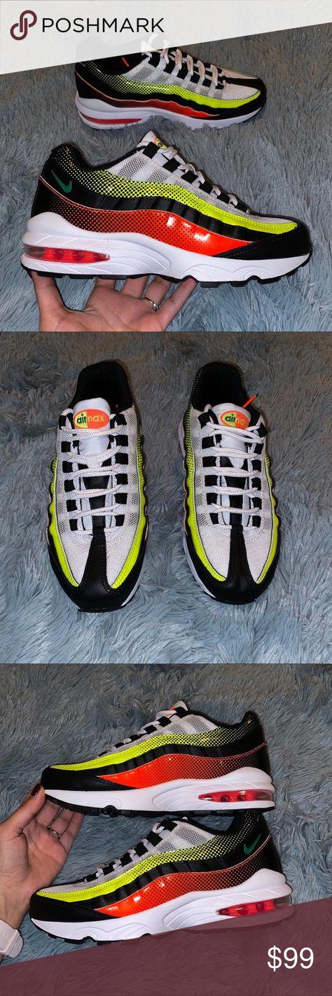 New Size 7 5 Nike Air Max 95 Neon Nwt Nike Air Max 95 Fashion
