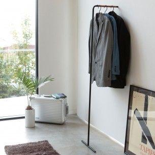 Tower Slim Garderobe Schwarz Coat Hanger Hanger Rack Clothes