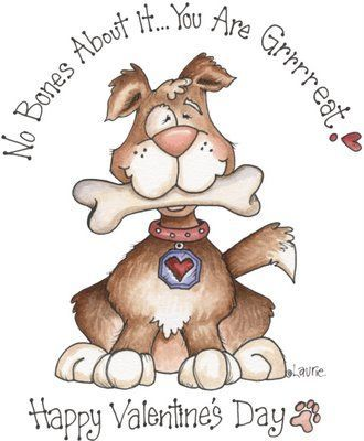 Picasa Web Albums Tita K Perros Animal Valentine Valentines Day Clipart Valentines Cards