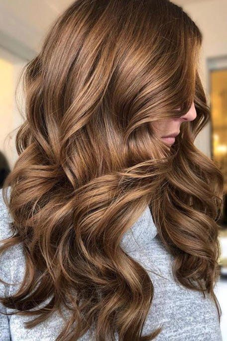 Hair Color Ideas That Ll Make This Summer Feel Totally Fresh For Blondes Brunettes And Redheads Brunette Hair Color Hair Styles Hair Color Chocolate