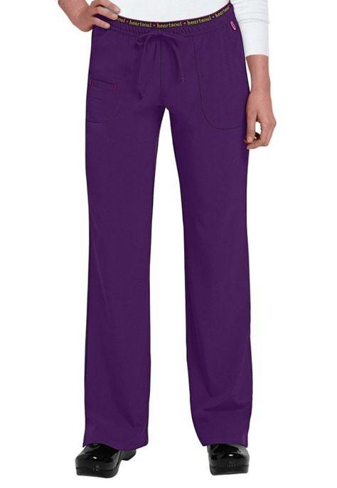 "Women/'s Tall Bootcut Yoga Pants Inseam 30.5/""-35/"" Plus /& Regular Sizes Purple"