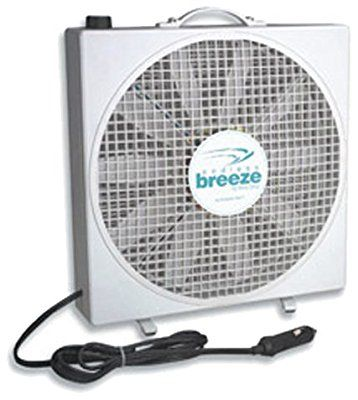 Amazon Com Fan Tastic Vent 01100wh Endless Breeze 12 Volt Fan Automotive Portable Fan Box Fan Standing Fans