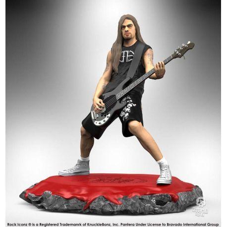 Guns N Roses Axl Rose Statue action figur  Neu Knucklebonz Rock Iconz
