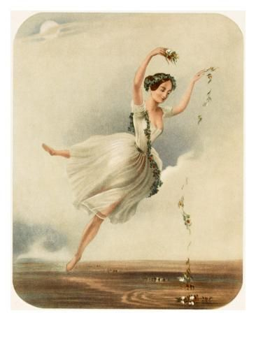 Giclee Print Lucille Grahn Ballet Dancer In Eoline Ou La Dryade 24x18in Ballet Art Ballet Posters Ethereal Art