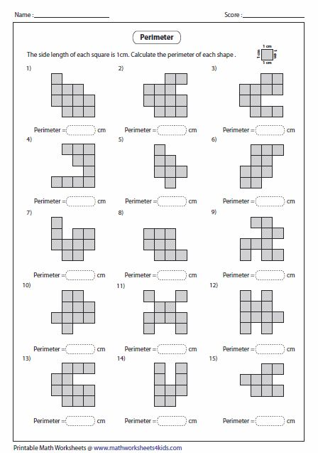 Perimeter Worksheets Perimeter Worksheets Perimeter Math Area And Perimeter Worksheets Missing side perimeter worksheet