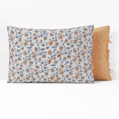 Taie D Oreiller Coton Lave Indian Flower Taille 50x70 Cm 63x63 Cm Taie D Oreiller Coton Et Housse De Couette
