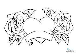 Resultado De Imagen Para Dibujo Para Colorear Heart Coloring Pages Rose Coloring Pages Unicorn Coloring Pages