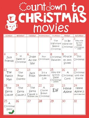 31 Nights Of Halloween Movies Peppermintheart In 2020 Christmas Prep Christmas Countdown Calendar Christmas Movies