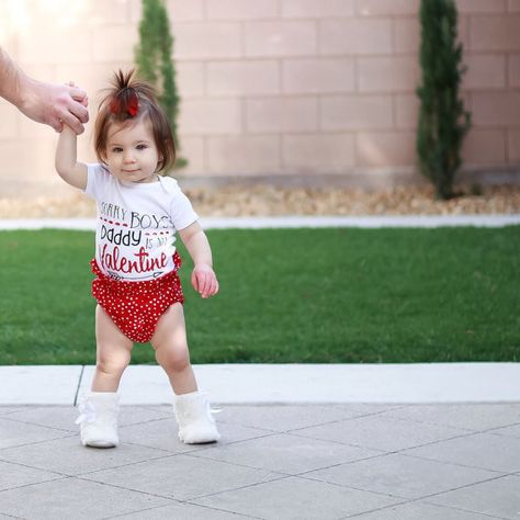 Let Daddy steal the show - Kids' Valentine's Day Clothes That'll Make You Swoon - Photos
