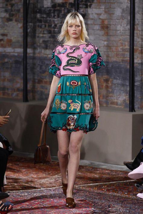 Gucci Resort 2016 Fashion Show - Look Marjan Jonkman