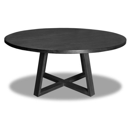 Home Black Round Dining Table Round Dining Dining Table