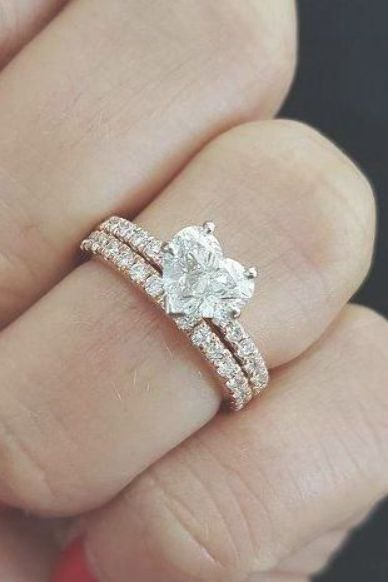 Rose Gold Wedding Rings Youll Fall In Love Wedding Planning
