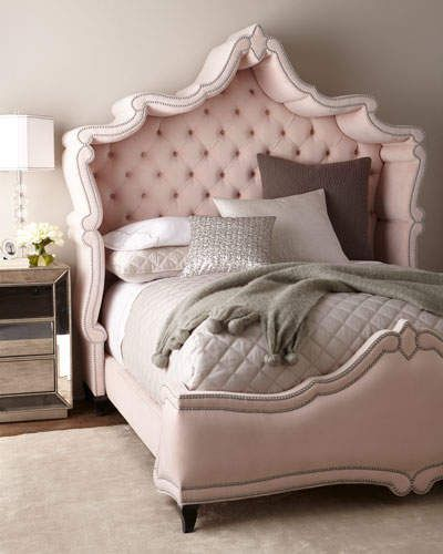 Haute House Queen Blush Antoinette Bed Ummmm With This Pink Bed