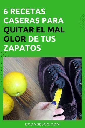 Dígale Adiós Al Mal Olor De Sus Zapatos Con Estos 6 Trucos Caseros Quitar Olor De Pies Limpieza De Zapatos Trucos De Limpieza