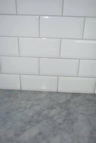 Mapei Grout Manhattan White Tile