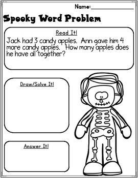 Halloween Math Print And Go Halloween Math Math Center Activities Elementary Teaching Resources