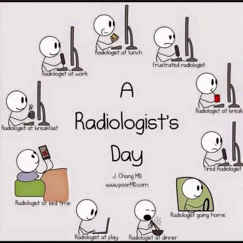 A Radiologists Day ) - Zealthkare Radiology  Medical Humor and - radiologist job description