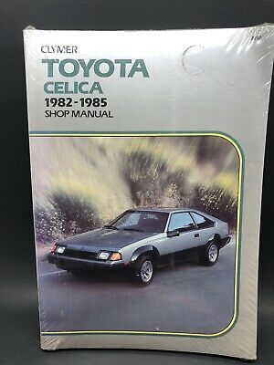 Toyota Celica 1982 1985 Shop Manual Clymer Isbn 0892873914 New Sealed Toyota Celica Clymer Toyota