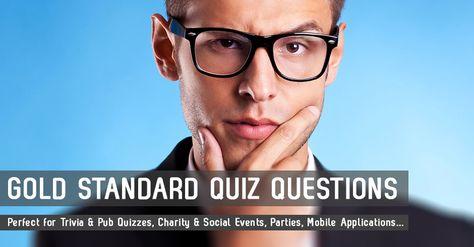 Trivia Quiz Questions - Trivia and Pub Quiz Questions