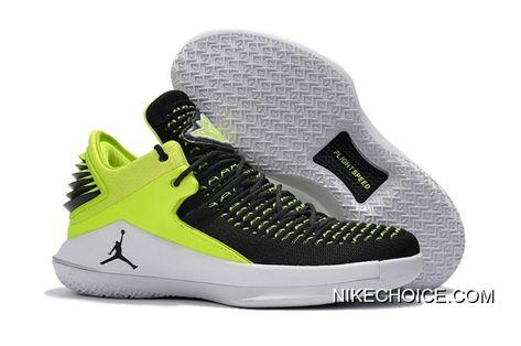 Air Jordan 32 Low PE Black Green New Style | Air jordans
