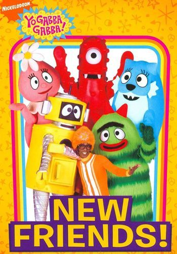 Yo Gabba Gabba: New Friends on DVD from Nickelodeon. More Children's, Nickelodeon and Television DVDs available @ DVD Empire. Right In The Childhood, Childhood Tv Shows, Childhood Movies, My Childhood Memories, Old Kids Shows, Old Shows, Fun Live, Yo Gabba Gabba, Old Cartoons