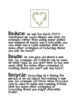 Speech recycling and a buying recycle