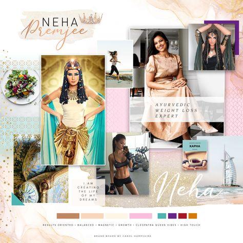 Neha Premjee Brand Vision Board