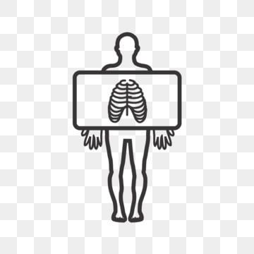 Chest X Ray Line Black Icon X Ray Clipart Line Icons X Icons Png And Vector With Transparent Background For Free Download In 2021 Glyph Icon Prints For Sale Clip Art