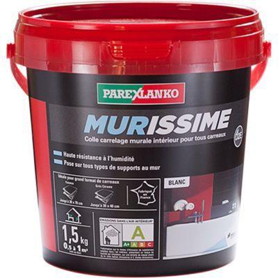 Colle Blanche Murissime 1 5 Kg En 2020 Collant Parement Mural Et Castorama