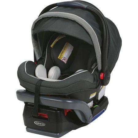 Graco Snugride Snuglock 35 Elite Infant Car Seat Oakley Gray Walmart Com Baby Car Seats Baby Car Infant Car Seat Base