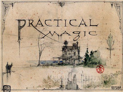 Design detail from the production of the movie Practical Magic.