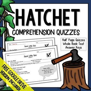 Hatchet Comprehension Questions Hatchet Distance Learning Hatchet Novel Study Hatchet Novel Study Comprehension Questions Guided Reading Levels