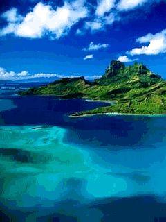 Fond D Ecran Anime Screensaver 240x320 Pour Telephone Portable Beautiful Islands Travel Places