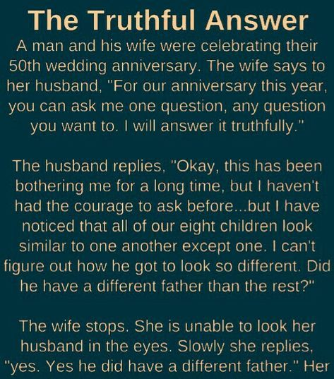 The Truthful Answer By A Wife Wife Humor Husband Humor Husband Wife Humor