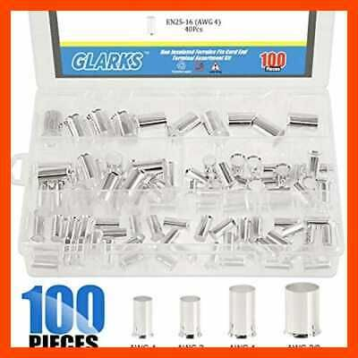 Ad Ebay 100pcs Awg 4 2 1 2 0 Wire Copper Crimp Connector Silver Plated Non Insulated Fer Wire Connectors Wire Plating