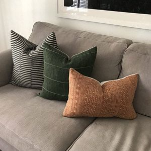 Linen Cloth Curated Collection Lennon Etsy In 2020 Green Pillows Decorative Pillow Combos Vintage Pillow Covers