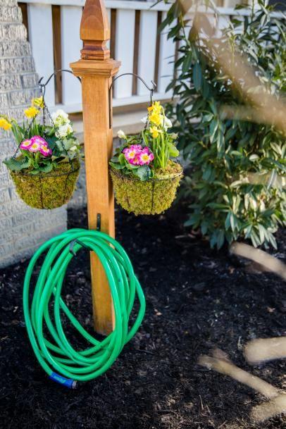 Wrap It Up Diy Garden Hose Storage Garden Hose Storage Garden Hose Holder Diy Garden