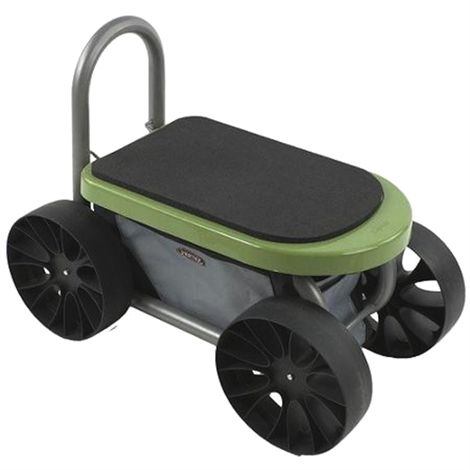 7ac4995cf8109324dd55df7933704b9b - One Stop Gardens Rolling Work Seat With Tool Tray