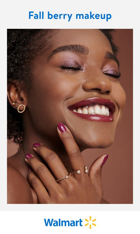 Berry tones are all the rage, and Walmart has them for less. Find the stylish shades of the season, from all your favorite cosmetic brands at Walmart Beauty.