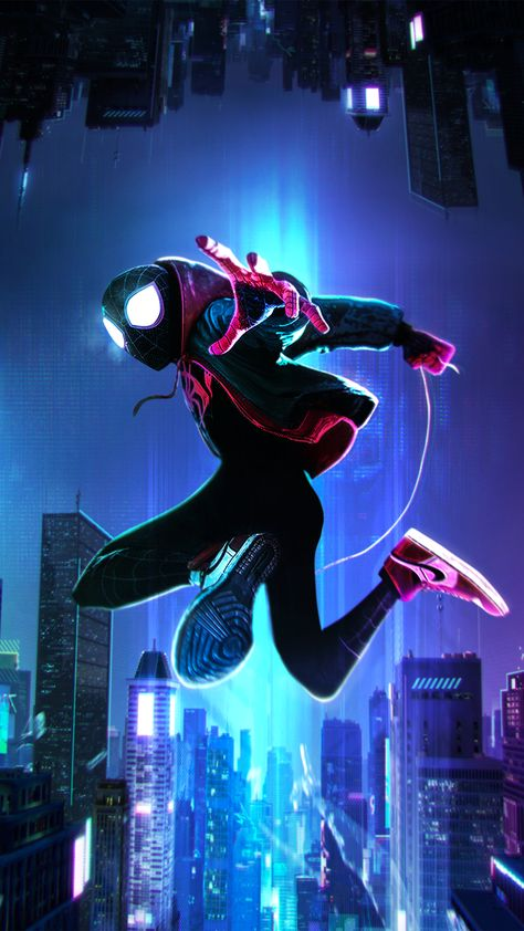 Into the Spider-Verse Wallpaper - iPhone 11 Pro Max