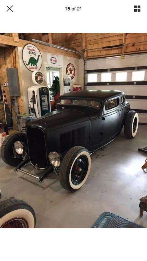1932 #hotrodsvintagecars