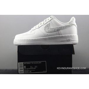 New Release Nike Air Force One Low Just Do It Black White 2018
