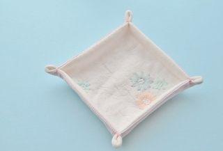 ぷちトレイの作り方 komihinata の手作り 布小物 手作り ヘアアクセサリー 小物 トレイ