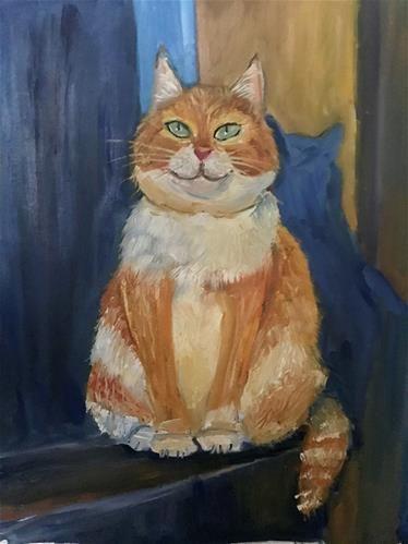 Daily Paintworks : daily, paintworks, Daily, Paintworks, Painting, Original, Alexandra, Yavnykh, Portrait, Painting,, Animals, Artwork,