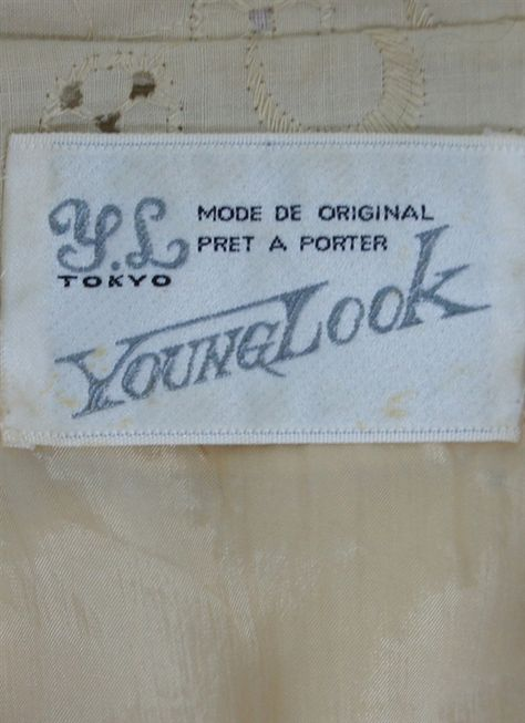 Vintage label from Young Look