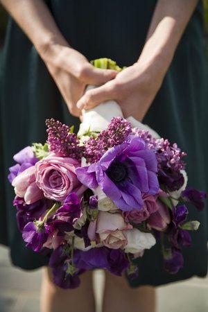 Lilacs, Anemones, Roses, Tulips, Sweet Peas
