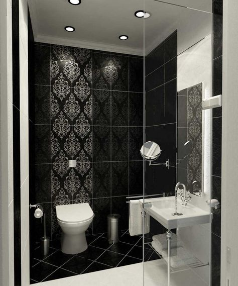 Beautiful Wall Tiles For Black And White Bathroom U2013 York By NovaBell |  DigsDigs | Bathtastic | Pinterest | Luxury, Wall Tiles And Black