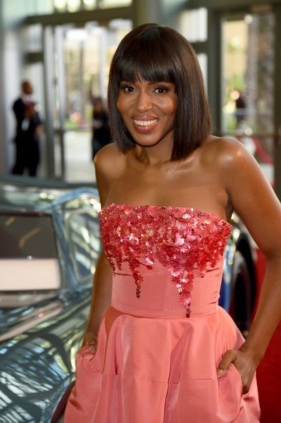 Actor Kerry Washington attends the premiere of Disney and Pixar's 'Cars 3' at Anaheim Convention Center.