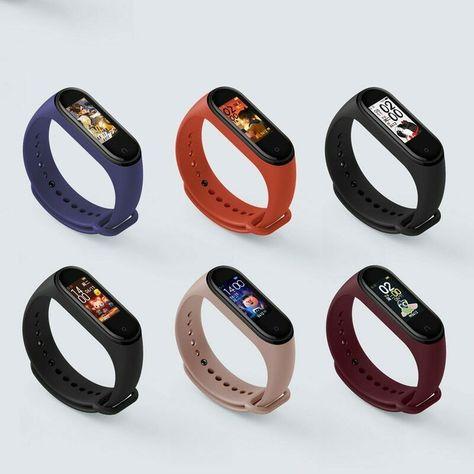 Xiaomi Mi Band 4 Smart Bracelet 3 Color Amoled Screen Miband 4 Smartband Ebay Smartwatch Pulseiras Inteligentes Cronômetros