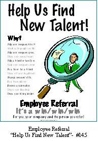 referral bonus program sample